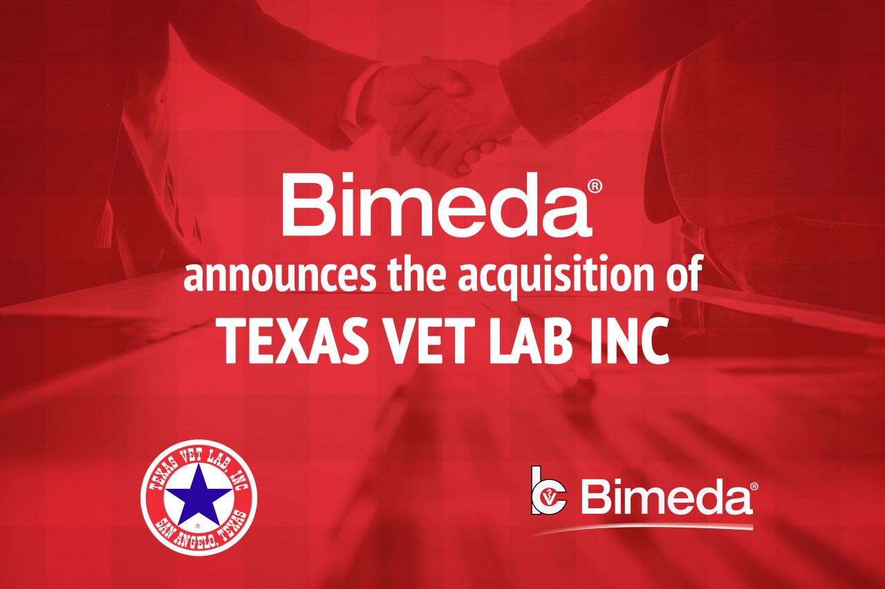 Bimeda Announces Acquisition of Texas Vet Lab, Inc