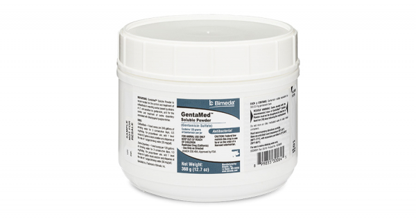 GENTAMED##T## SOLUBLE POWDER (Rx)